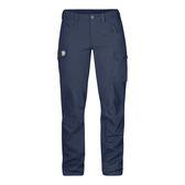 Fjallraven Nikka Trousers W G1000 彈性長褲 女 風暴藍