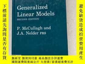 二手書博民逛書店Generalized罕見ar Models( Second Edition )Y188112 P. Mccu