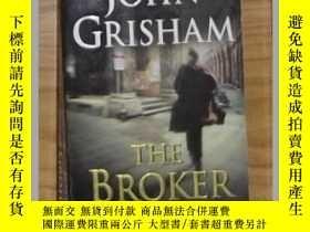 二手書博民逛書店英文原版罕見The Broker by John Grisham