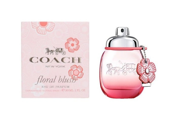 岡山戀香水~COACH Floral Blush 嫣紅芙洛麗女性淡香精30ml~優惠價:1090元