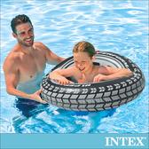 INTEX酷輪胎-游泳圈91cm 適用9歲以上(59252)