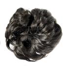 【頭髮增量】假髮甜甜圈(具鬆緊帶可綁)加厚 (黑褐色) [28451]