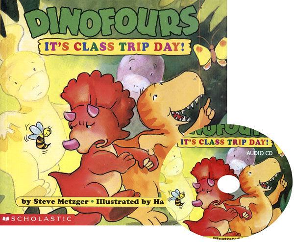 【麥克書店】IT S CLASS TRIP DAY /英文書附CD《小恐龍品格繪本》