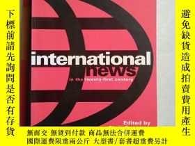 二手書博民逛書店international罕見news 國際新聞 英文原版Y11897 JL JL 出版2004