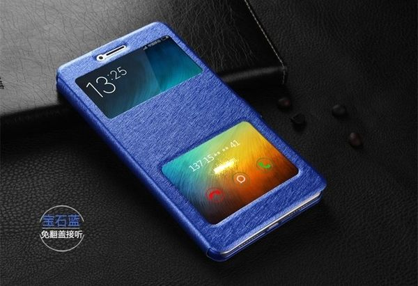 OPPO R9S R9Splus 手機套 雙開窗皮套 免翻蓋接聽手機殼 翻蓋支架保護套 蠶絲紋保護殼 R9Sp R9S+