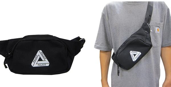 ~雪黛屋~PALACE 腰包中容量二層主袋+外袋共三層簡易型腰包胸前包防水尼龍布SPW9338