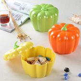 糖果罐家用密胺塑料南瓜糖果盒婚慶干果帶蓋密封水果盤子    SQ12506『寶貝兒童裝』