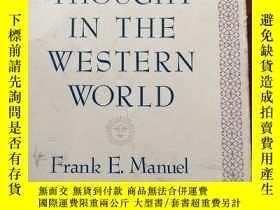 二手書博民逛書店utopian罕見thought in the Western thoughtY367262 frank e.