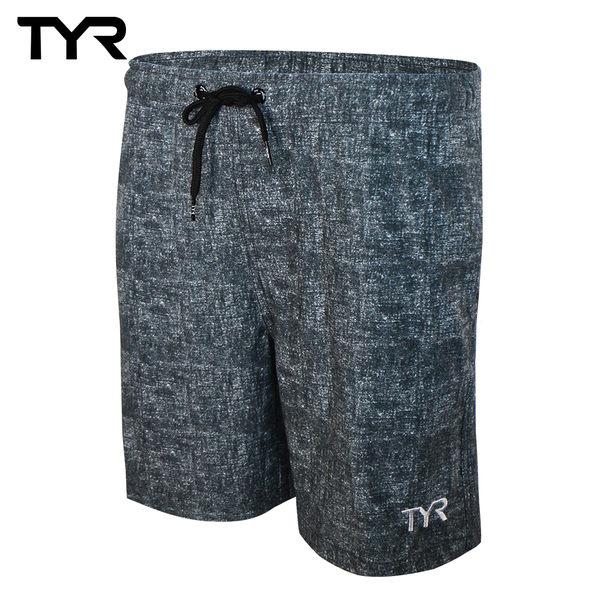 美國TYR 男款透氣慢跑短褲 Marl Shorts 台灣總代理