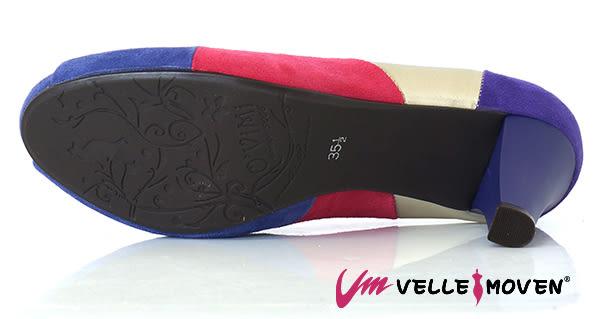 魚口鞋 高雅撞色 高跟鞋 VelleMoven 名媛氣質風 典雅紫