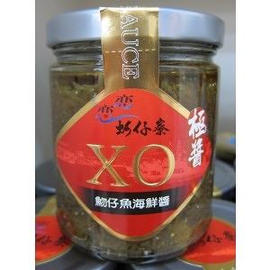 【梓官區漁會】蚵仔寮X.O.魩仔魚海鮮醬((辣味)、魷魚干貝、黃金干貝小魚)