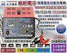 【久大電池】麻新 FEB-12/24-08 (12V/24V電壓自動識別) 微電腦全自動充電機~接電池無火花~