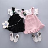 童裝女童夏季套裝女童嬰兒寶寶套裝新款背心加短褲兩件套【聚寶屋】