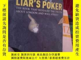 二手書博民逛書店Liar s罕見Poker 英文原版老千騙局《又名:說謊者的撲克