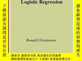二手書博民逛書店Log-linear罕見Models And Logistic RegressionY256260 Ronal