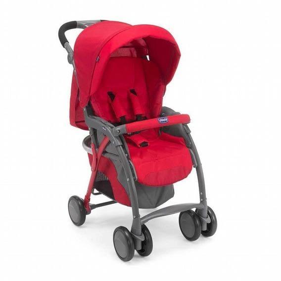 Chicco SimpliCity 輕便推車/嬰兒推車(熱情紅) 5380元