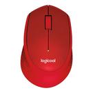 【奇奇文具】羅技 M331 (紅)無線靜音滑鼠
