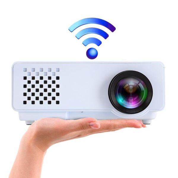 投影機RD-810 投影儀家用高清1080p無線wifi智慧led辦公微型手機投影機igo 3c優購