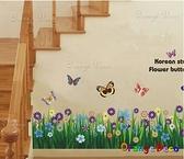 壁貼【橘果設計】青青草地 DIY組合壁貼/牆貼/壁紙/客廳臥室浴室幼稚園室內設計裝潢