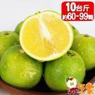 【果之家】古坑老欉鮮採爆汁雞蛋柳丁10台斤(約60-100顆)