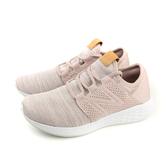 NEW BALANCE 運動鞋 跑鞋 網布 女鞋 粉紅色 窄楦 WCRUZKC2-B no450