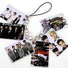 BIGBANG集體照片PVC照片小卡手機鍊 鑰匙鏈E01-A【玩之內】★平價★韓國 GD TOP 太陽