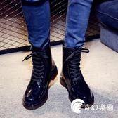 雨靴-黑色成人水鞋低幫時尚雨鞋男士 帥氣夏季戶外防水防滑雨靴-奇幻樂園