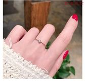 Pr 復古風單鑽鋯石細麻花扭紋1玫瑰金鈦鋼尾戒