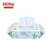 『四包』Nuby 海洋系列極厚柔濕巾 60抽