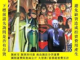 二手書博民逛書店DC漫畫原畫集罕見Mythology: The DC Comic