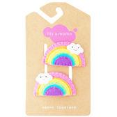 美國手工髮夾髮飾啪啪夾: 閃亮彩虹: Sunshine Rainbow: LM-HCA319
