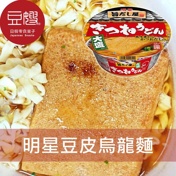 【豆嫂】日本泡麵 明星 大盛碗麵(豆皮烏龍/海帶拉麵/天婦羅蕎麥)