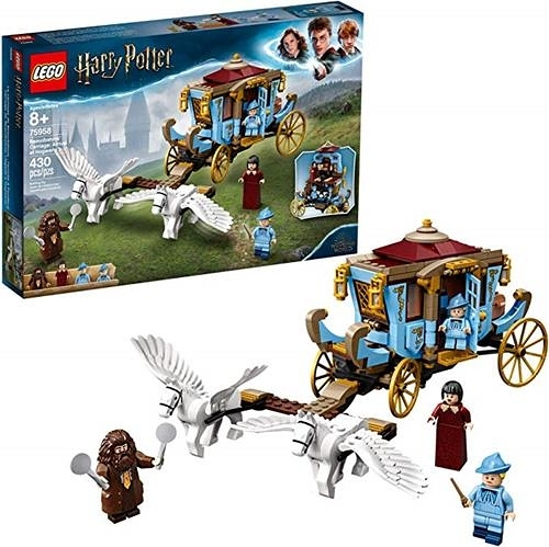 LEGO 樂高  Harry Potter and The Goblet of Fire Beauxbatons Carriage: Arrival at Hogwarts 75958