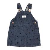 OSHKOSH 牛仔吊帶裙 深藍星星 | 女寶寶 | 北投之家童裝【OS434G133】