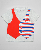 Hallmark Babies 男童短袖T恤上衣 HC1-R14-04-KB-MG