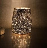 燈-唯美星空風燈 電鍍鏤空風燈 贈客供蠟燭  提拉米蘇