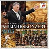 【停看聽音響唱片】【BD】2015維也納新年音樂會-祖賓梅塔&維也納愛樂(藍光版)