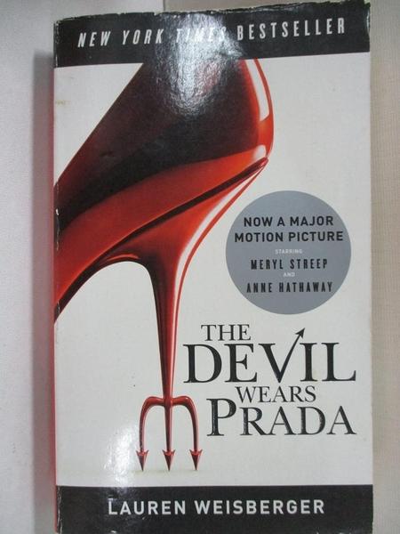 【書寶二手書T5/一般小說_A5M】The Devil Wears Prada_Lauren Weisberger