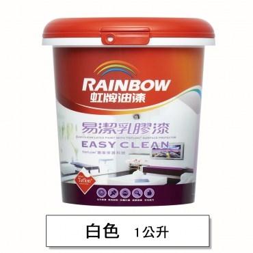 彩虹屋易潔乳膠漆 白色 1L