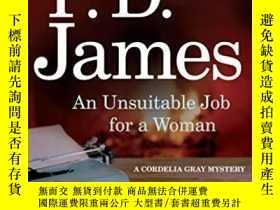 二手書博民逛書店An罕見Unsuitable Job For A WomanY256260 Baroness P. D.&am