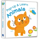 【Listen & Learn Series】Pop-Up & Learn Animals(可愛互動立體書:驚奇動物)(附美籍教師朗讀音檔)