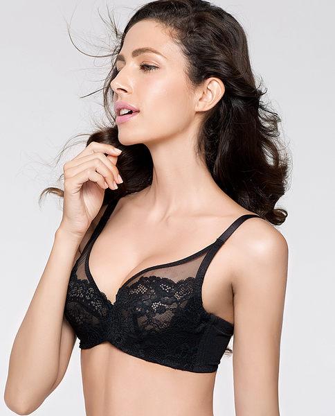 夏季薄款性感蕾丝女士内衣胸罩-ami0032411