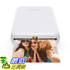[8美國直購] 迷你列印機 Polaroid ZIP Wireless Mobile Photo Mini Printer (White) Compatible w/ iOS  Android NFC