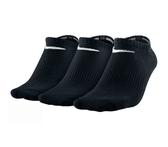 Nike 3 Pack Socks [SX4705-001] 男 踝襪 隱形襪 運動 透氣 舒適 輕薄 3入 黑