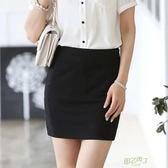 春夏彈力包臀裙短裙半身裙女高腰裙子OL職業大尺碼一步裙包裙工作裙