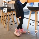 雪靴 女童雪地靴2020新款冬季中大童刷毛加厚棉靴防水中幫靴男童棉靴子 3色26-36
