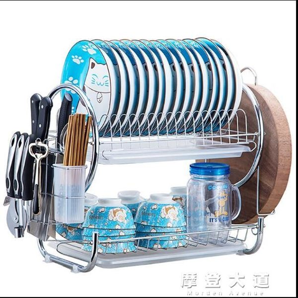 碗架瀝水碗碟盤子架刀架晾洗放碗櫃用品餐具碗筷收納盒廚房置物架