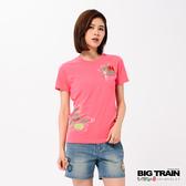 Big Train 荷葉金魚短袖女款-女-Z85061