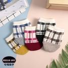 【正韓直送】暖色格紋穆勒襪 韓國襪子 短...