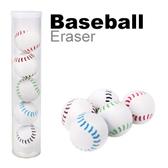 【允拓】高潔淨造型橡皮擦 棒球5入裝